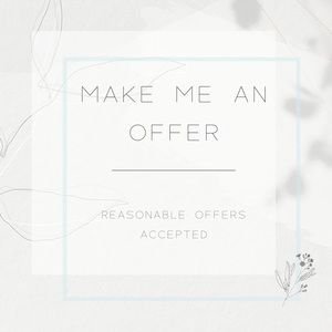 Other - Offers are welcome!